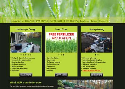 monsma-landscape-website-design