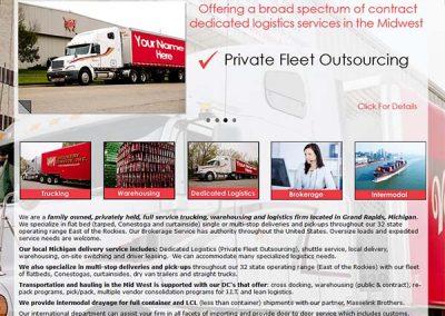 vans-delivery-website-design