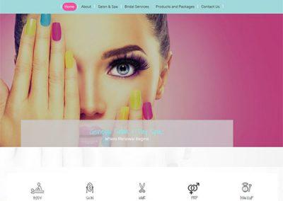 website-design-genesis-salon-rockford-mi